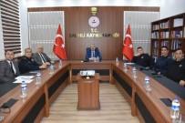 SPORDA ŞİDDET - Salihli'de Spor Güvenlik Kurulu Toplantısı Yapıldı