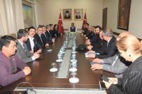 ERSIN YAZıCı - Balıkesir Kent Konseyi Vali Yazıcı'yı Ziyaret Etti