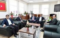 HASAN YILMAZ - Dündar'dan Bursa AÇSH Müdürü Yılmaz'a Ziyaret