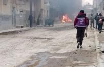 AZEZ - YPG Azez'de Füze Ve Topçu Saldırısı Düzenledi Açıklaması 3 Yaralı