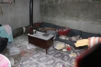 AZEZ - Azez'de Teröristlerin Saldırısı Sonrası Enkaz Görüntülendi