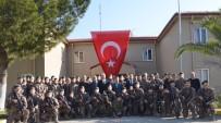 KURBAN KESİMİ - Barış Pınarı Harekatı'nda Görev Alacak PÖH'ler Aydın'dan Dualarla Uğurladı