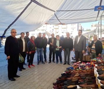 Ortaca CHP İlçe Başkanı Tezcan'dan Yoğun Mesai