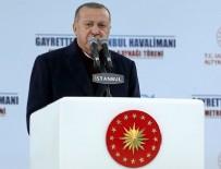 HıZLı TREN - Cumhurbaşkanı Erdoğan: İstanbul Havalimanı-Gayrettepe arası ulaşım 35 dakikada sağlanacak
