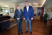 TAŞDELEN - Kolombiya Büyükelçisinden Taşdelen'e Ziyaret