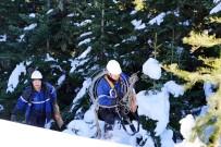 YÜKSEK GERİLİM - (ÖZEL) 2600 Rakımda 1,5 Metre Karda Başkent EDAŞ Ekiplerinin Zorlu Mücadelesi