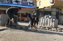 CİZRE BELEDİYESİ - Cizre'de Yol Yapım, Onarım Ve Parke Taşı Döşeme Çalışması