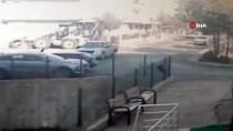 YENIKENT - Başkent'te Park Halinde Ki Araca Çarpıp Kaçan Sürücü Güvenlik Kamerasına Yakalandı