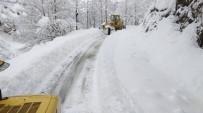 AHMET ŞAHIN - Giresun'da Karla Mücadele Çalışmaları Başladı
