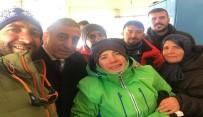 ERZURUM VALISI - Özel Kayakçı Başarısıyla Tarihe Geçti