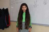 BOLAT - 8 Yaşındaki Zeynep Beline Kadar Uzattığı Saçlarını LÖSEV'e Bağışladı