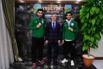 GÜMÜŞ MADALYA - Başkan Çınar, Başarılı Sporcuları Tebrik Etti