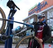 BİSİKLET YOLU - Manisa'da İlk Bisiklet Bakım İstasyonu Açıldı