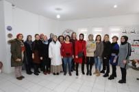 SANAT ATÖLYESİ - Melek Arı'dan Kadın Girişimcilere Ziyaret