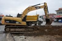 YEŞILTEPE - Sanayide Yol Düzenleme Çalışmaları Yapılıyor