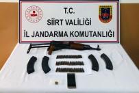 RUHSATSIZ SİLAH - Siirt'te Silah Kaçakçılığı Yaptığı Tespit Edilen 1 Kişi Yakalandı