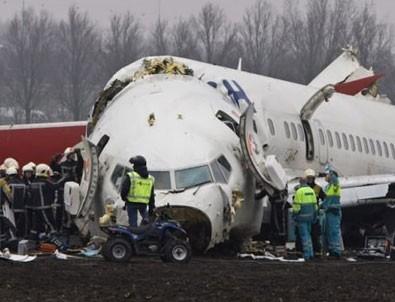 THY'nin Hollanda kazasında Boeing skandalı!