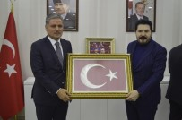EKREM ÇELEBİ - AK Parti Malatya Milletvekili Ahmet Çakır Ağrı Belediyesini Ziyaret Etti