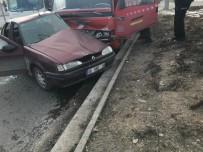 HıZıR - Ankara'da Trafik Kazası Açıklaması 1 Yaralı