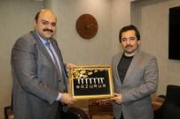 HALK OYUNLARI - Başdanışman Küçükyılmaz'dan Başkan Orhan'a Ziyaret