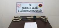 Gelibolu'da Tarihî Eser Arayan Şahıs Dedektörle Yakalandı