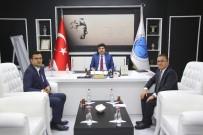 MUSTAFA DOĞAN - Gümrük Müdürleri Rektör  Karacoşkun'la Bir Araya Geldi