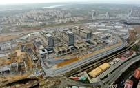 TOPRAK KAYMASI - İBB Şehir Hastanesinin Yol İnşaatlarını Durdurdu