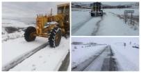 Kırşehir'de Karla Mücadele Çalışmaları