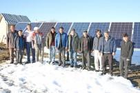 GÜNEŞ ENERJİSİ - Köyün İçme Suyu Problemi Güneş Enerjisiyle Çözüldü