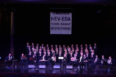 Nev-Eda Türk Sanat Müziği Korosu Performansı İle Alkış Aldı