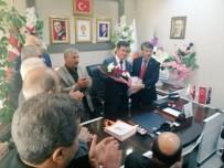 SİYASİ PARTİLER - Türkmenoğlu'ndan Yeni İlçe Başkanlarına 'Hayırlı Olsun' Ziyareti