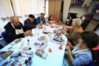 SANAT ATÖLYESİ - 100 Yaş Evi'nde Nesiller Buluşması