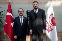 HİDAYET TÜRKOĞLU - Bakan Kasapoğlu, TBF Başkanı Hidayet Türkoğlu'nu Ziyaret Etti