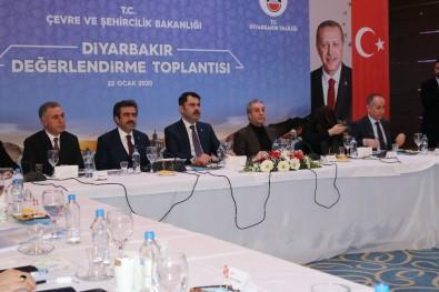 Bakan Kurum Açıklaması 'Amacımız Diyarbakır'ı Çok Daha İyi Seviyelere Çekmektir'