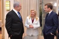 YUNANISTAN CUMHURBAŞKANı - Fransa Cumhurbaşkanı Macron, İsrail Başbakanı Netanyahu İle Görüştü