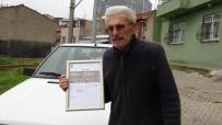 TRAFİK CEZASI - Hayatında İlk Kez Trafik Cezası Yedi, Hatıra Kalsın Diye Makbuzu Çerçeveletti