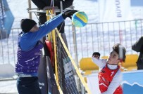 SPOR MÜSABAKASI - Kar Voleybolu Türkiye Şampiyonası Heyecanı Toroslar'da