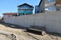 TOPRAK KAYMASI - Karabük'te 10 Yılda 4 Kilometre İstinat Duvarı