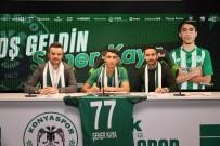 KONYASPOR - Konyaspor, U17 Milli Oyuncusu Şener Kaya İle Sözleşme İmzaladı