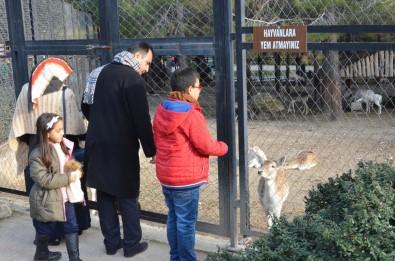 Tarsus Hayvan Parkını Hafta Sonunda 5 Bin 500 Kişi Gezdi