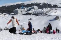 YıLBAŞı - Uludağ'a Yağan Kar Sezon Sonuna Kadar Yetecek