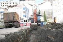 ŞIRINEVLER - Altınordu'nun En Büyük Mahallesinde Yağmur Suyu Hatları Yenileniyor