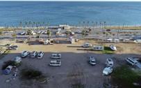 SU FATURASI - Antalya'da 5 Yıldızlı Karavan Tatili Kıskandırıyor