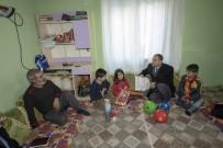 SİNAN ASLAN - Başkan Vekili Aslan'dan Hane Ziyareti