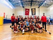 VOLEYBOL TAKIMI - Kepez'in Sultanları Turnuvayı 3. Bitirdi
