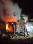 YEŞILTEPE - Odunluk Yangını Ucuz Atlatıldı