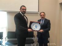 MUSTAFA AKIŞ - Rektör Bağlı'dan Cumhurbaşkanı Başdanışmanı Akış'a Ziyaret