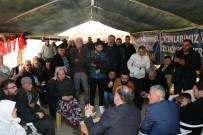 MURAT KURUM - AK Parti'li Yavuz, Kızılcaköy'de Jeotermal Eylemcilerini Nöbet Çadırında Ziyaret Etti