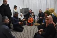 HıZıR - Başkan Beyoğlu Mağdur Aileye Sahip Çıktı