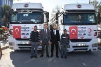 BAYRAM YıLMAZ - Ceyhan'dan İdlib'e Kömür Yardımı Yardım